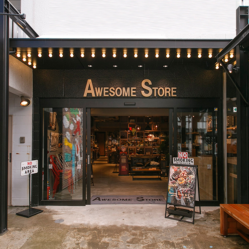 awesome store 原宿 表参道の旗艦店を中心に 全国約30店舗 続々と新