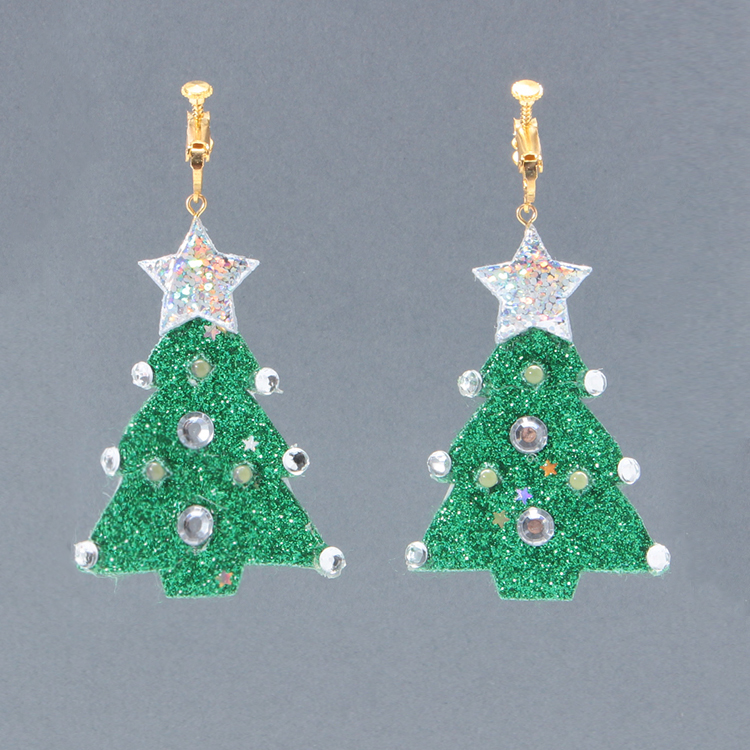 Earrings XmasTree GR