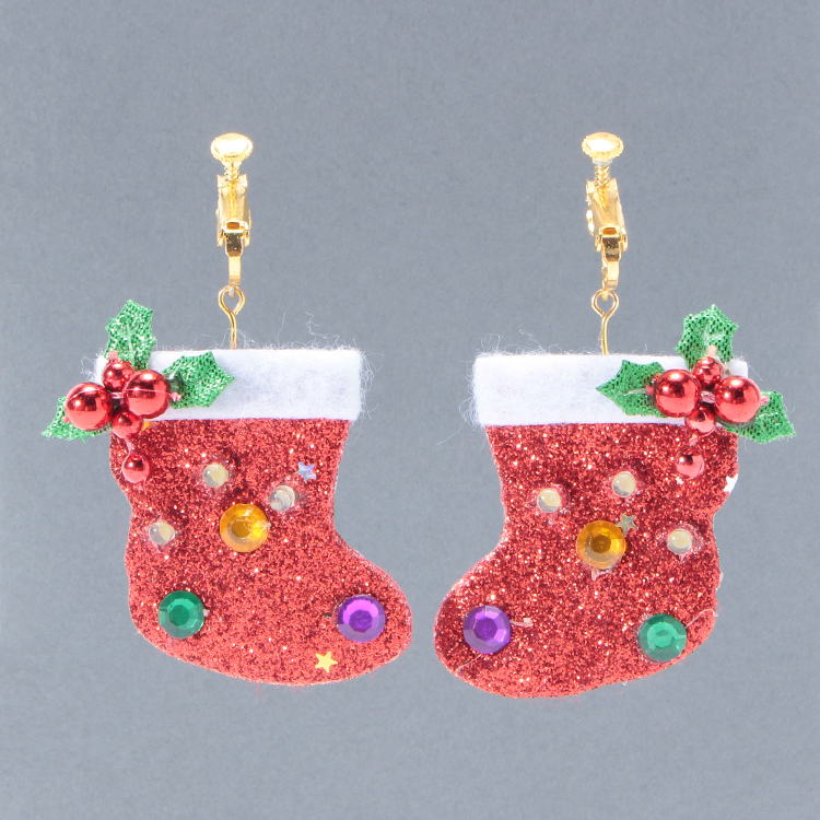 Earrings XmasSocks RD